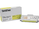 Brother TN04Y Genuine Yellow Toner Cartridge