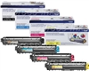 Brother TN221/ TN225 Genuine Toner Cartridge Combo