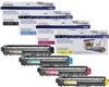 Brother TN221 4-Pack Genuine Color Toner Cartridge Combo
