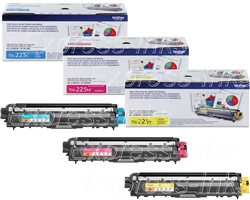 Brother TN225 Genuine Toner Cartridge Combo