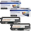Brother TN315BK Genuine Black Toner Cartridge 2-Pack
