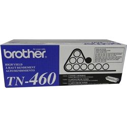 Brother TN460 Genuine Black Toner Cartridge