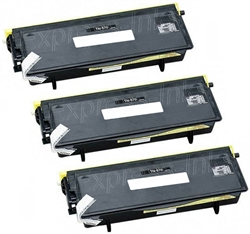 Brother TN570 3-Pack Compatible Toner Combo