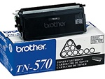 Brother TN570 Genuine Black Toner Cartridge
