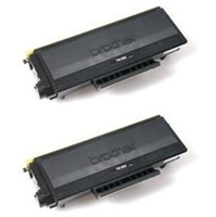 Brother TN580 2-Pack High Yield Toner Cartridges