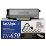 Brother TN650 Genuine Black Toner Cartridge