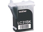 Brother LC31BK Genuine Black Inkjet Ink Cartridge LC31-BK