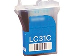 Brother LC31C Cyan Inkjet Ink Cartridge LC31-C