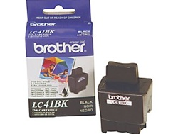 Brother LC41BK Black Ink/ Inkjet Cartridge