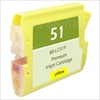 Brother LC51Y Yellow Ink/ Inkjet Cartridge
