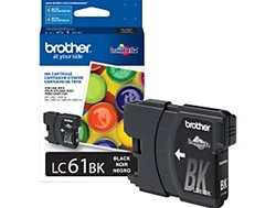 Brother LC61BK Genuine Black Inkjet Ink Cartridge