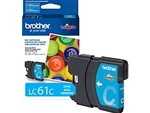 Brother LC61C Genuine Cyan Inkjet Ink Cartridge