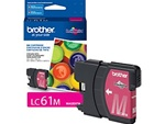 Brother LC61M Genuine Magenta Inkjet Ink Cartridge