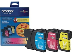 Brother LC653PK Genuine Ink Cartridge Combo