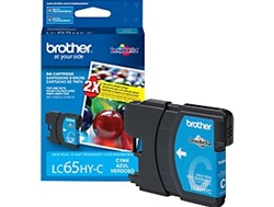 Brother LC65HYC Genuine Cyan Inkjet Ink Cartridge
