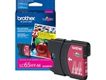 Brother LC65HYM Genuine Magenta Inkjet Ink Cartridge