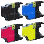 Brother LC75 Compatible Ink Cartridge Combo