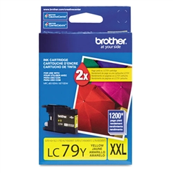 Brother LC79Y Genuine Yellow Inkjet Ink Cartridge