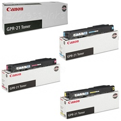 Canon GPR-21 4-Pack Genuine Toner Cartridge Combo