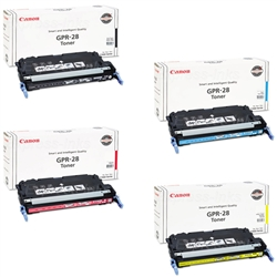 Canon GPR-28 4-Pack Genuine Toner Cartridge Combo