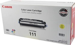Canon CRG-111 Genuine Yellow Toner 1657B001AA