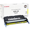 Canon GPR-28 Genuine Yellow Toner Cartridge 1657B004AA