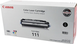 Canon CRG-111 Genuine Black Toner 1660B001A
