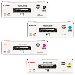 Canon MF8050CN Genuine Toner Cartridge Combo CRG-116