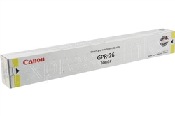 Canon GPR-26 Genuine Yellow Toner 2450B003AA