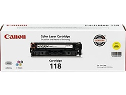 Canon 2659B001AA Genuine Yellow Toner Cartridge CRG-118Y