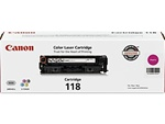 Canon 2660B001AA Genuine Magenta Toner Cartridge CRG-118M
