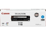 Canon 2661B001AA Genuine Cyan Toner Cartridge CRG-118C