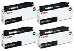 Canon GPR-11 Genuine Toner Cartridge Combo
