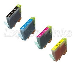 Canon BCI-6 4-Pack Inkjet Ink Tank Cartridge Combo
