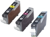 Canon CLI-8CLR3PK 3-Pack Ink Cartridges