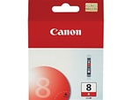Canon CLI-8R Genuine Red Inkjet Ink Cartridge CLI-8
