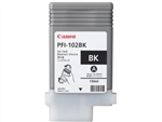 Canon PFI-102BK Genuine Black Ink 0895B001A