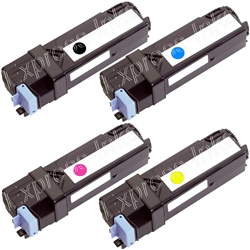Dell Color Laserjet 2130CN 4-Pack Toner Cartridge Combo