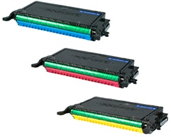 Dell 2145CN 3-Pack CMY Toner Cartridge Combo HYC2145