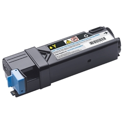 Dell 331-0718 Genuine Yellow Toner Cartridge