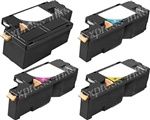 Dell Color Laserjet 1250C Compatible Toner Cartridge Combo