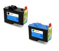 Dell Series 2 2-Pack Ink/ Inkjet Cartridges