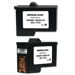 Dell Series 2 Black Ink/ Inkjet Cartridge 7Y743