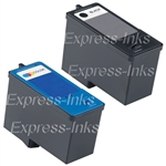 Dell Series 5 2-Pack High Capacity Inkjet Ink Cartridges