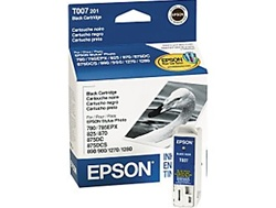 Epson T007201 Genuine Black Inkjet Ink Cartridge