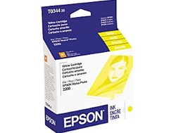 Epson T034420 Genuine Yellow Inkjet Ink Cartridge