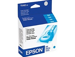 Epson T048220 Genuine Cyan Inkjet Ink Cartridge