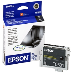 Epson T060120 Black Genuine Inkjet Ink Cartridge