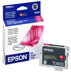 Epson T060320 Magenta Genuine Inkjet Ink Cartridge