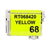 Epson T068420 (#68) Compatible Yellow Ink Cartridge
